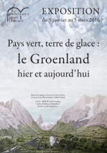 Affiche cycle conférence Groenland